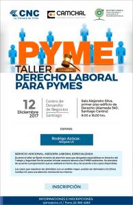 Taller Derecho Laboral CNC