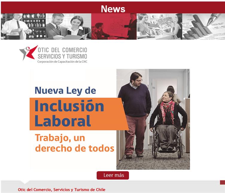 INCENTIVA LA INCLUSIÓN DE PERSONAS CON DISCAPACIDAD AL MUNDO LABORAL.