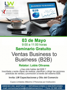 SEMINARIO VENTAS BUSINESS TO BUSINESS (B2B)
