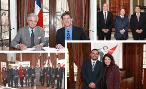 OTIC del Comercio y Cámara Chileno-Alemana de Comercio e Industria - CAMCHAL, firman convenio de colaboración