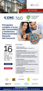 Invitación Seminario Principales Cambios a la Ley del Consumidor y Tendencias Internacionales del Derecho del Consumo