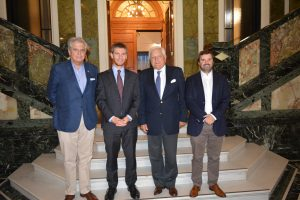 CNC y OTIC del Comercio se reunieron con el Director Nacional del Sence