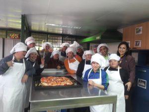 Exitoso avance de Plan de Manipulación de Alimento en Escuela Especial y de Lenguaje San Antonio II